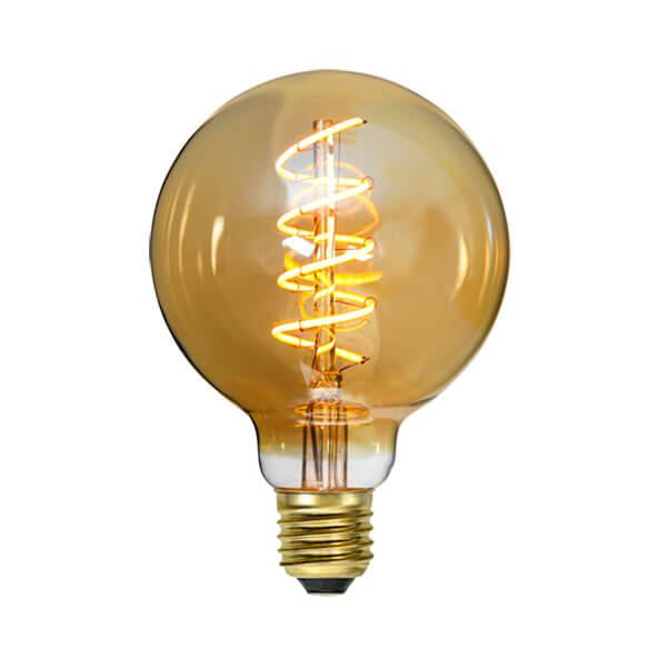 Ampoule LED rétro Globe filament twist