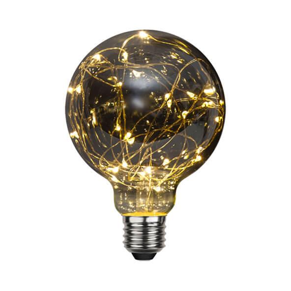 Ampoule festive noir