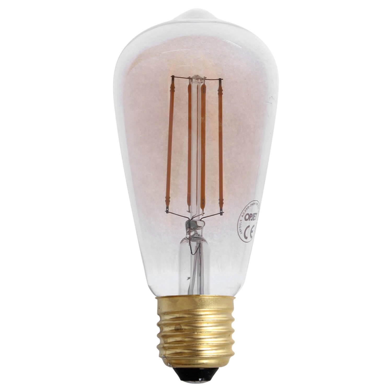Ampoule LED rétro cône à filament vertical