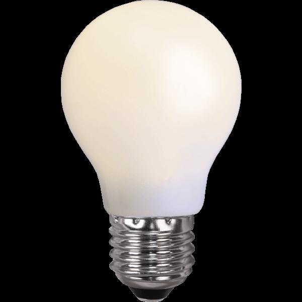 Ampoule incassable blanche
