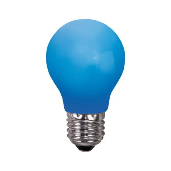 Ampoule incassable bleue