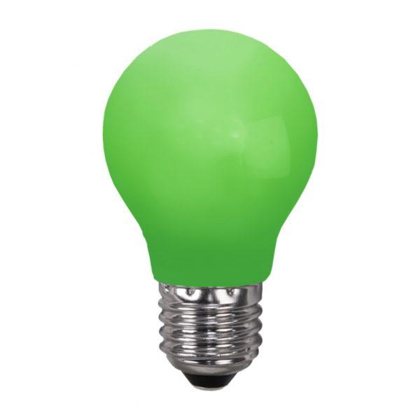 Ampoule incassable verte