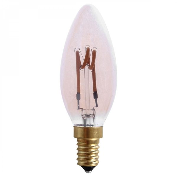Ampoule LED rétro flamme