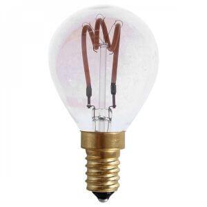Ampoule LED rétro ronde