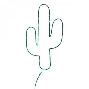 Cactus mural lumineux