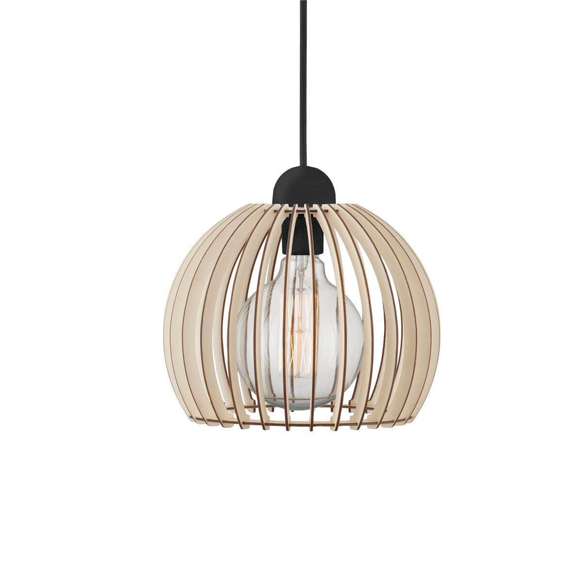 Suspension en bois ajourée Chino Small - Nordlux