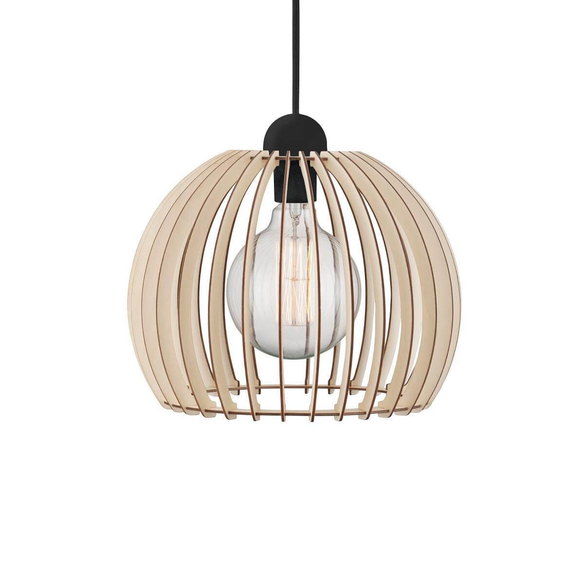 Suspension en bois ajourée Chino Medium - Nordlux