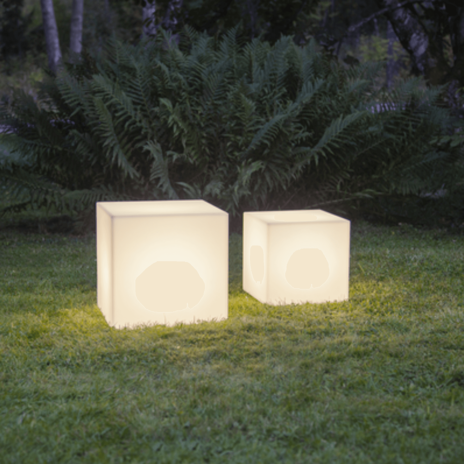 Cube lumineux LED Medium
