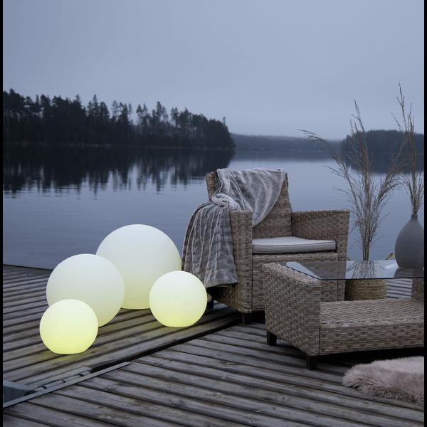Lampe extérieure LED globe mini