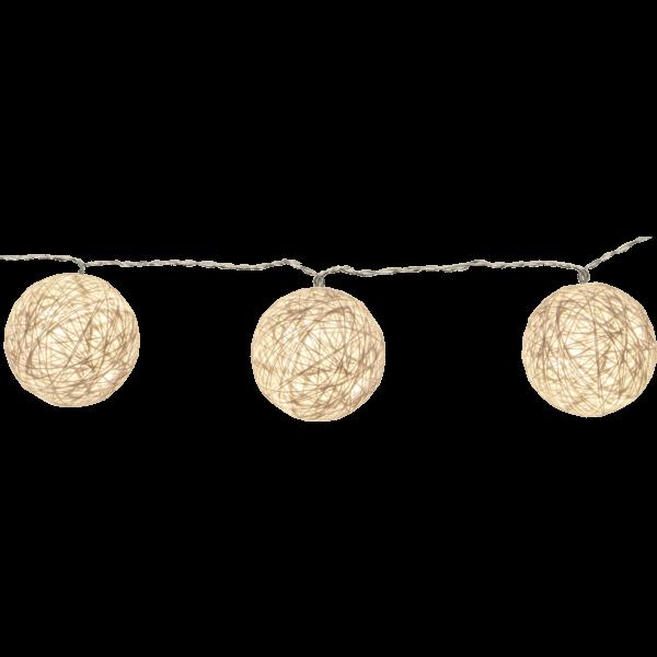 Guirlande lumineuse sphère