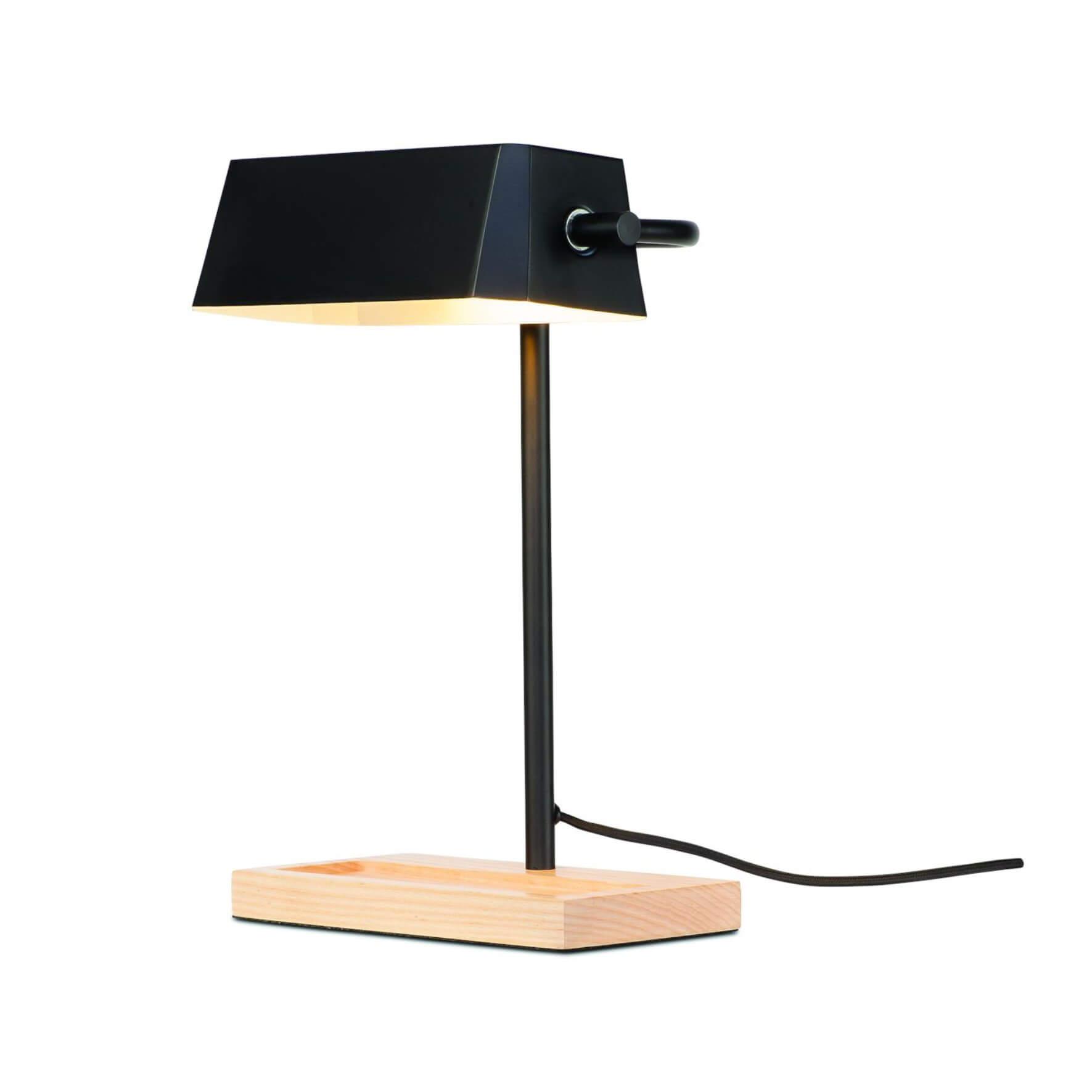 Lampe de bureau Cambridge noir mat