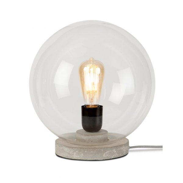 Lampe de table globe en verre Warsaw - It's About Romi