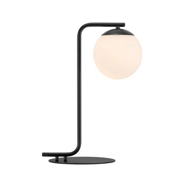 Lampe de table globe opal noir - Nordlux