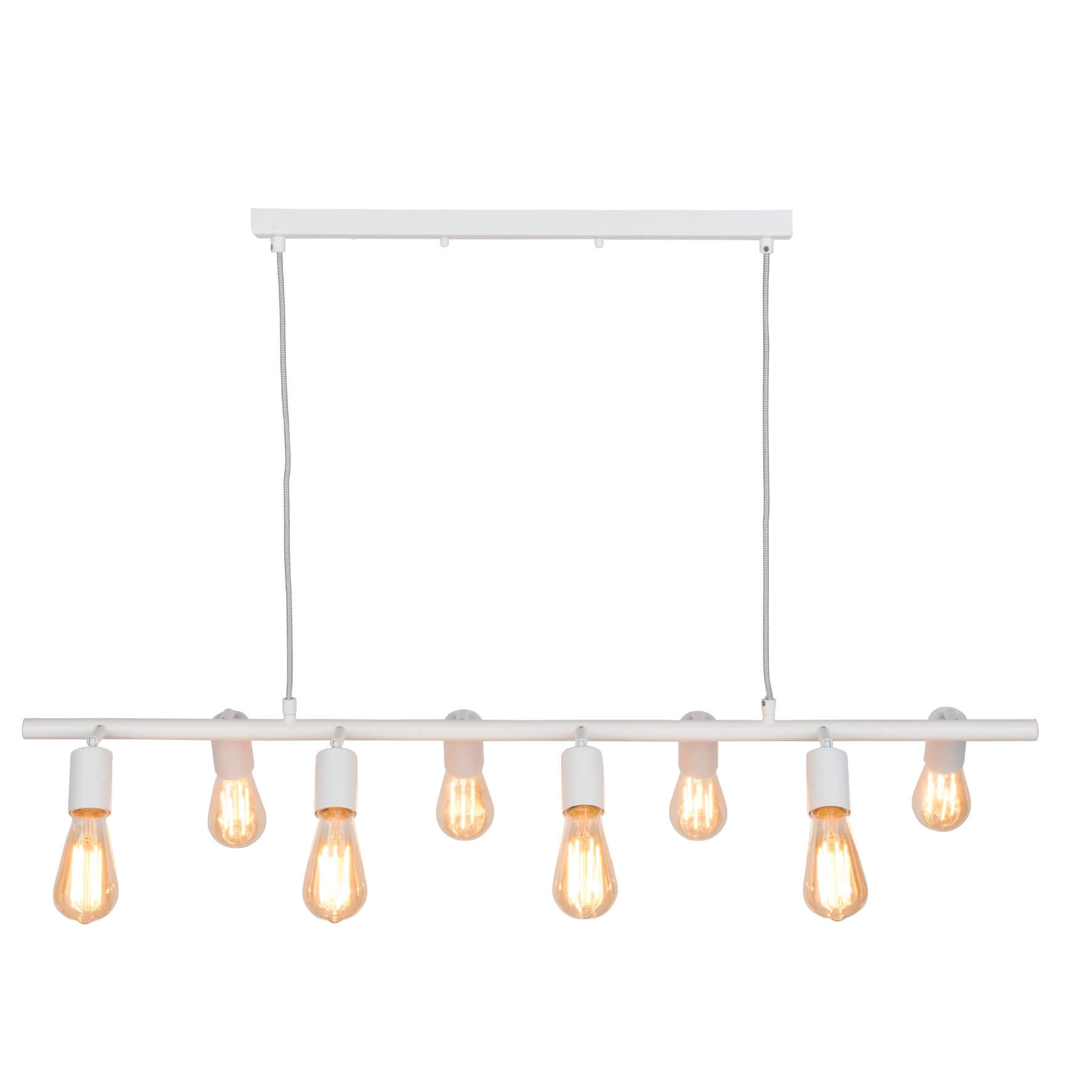 Suspension lustre Miami blanc