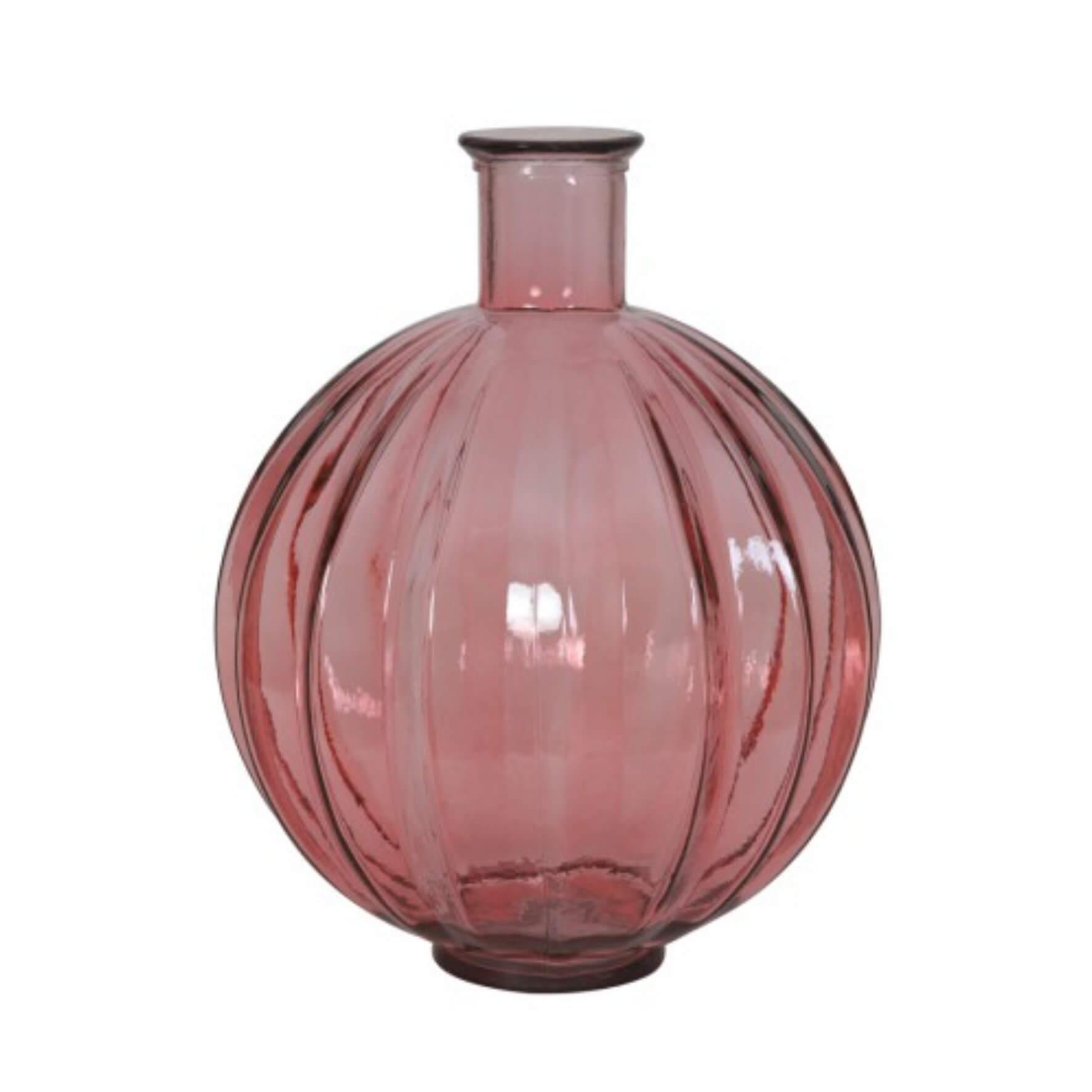 Glasvasen-Leuchte Rosa Palloci