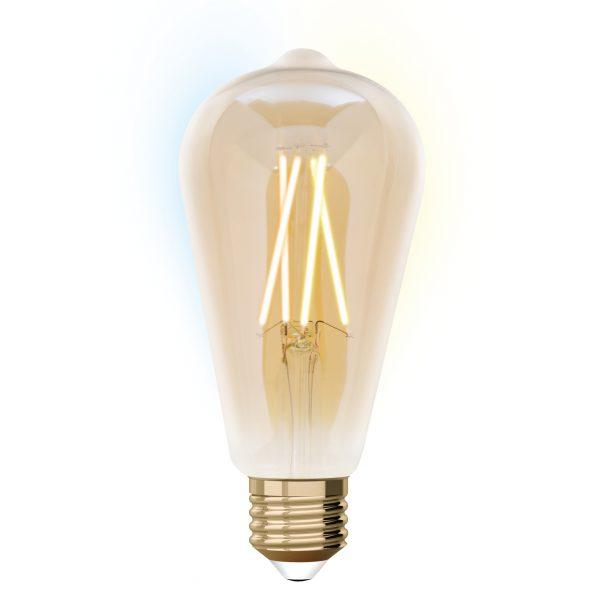 Ampoule E27 ronde connectée
