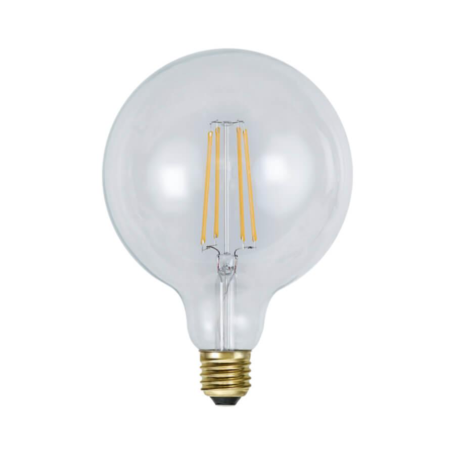 Dimmbare Retro LED-Glühbirne Edison rund
