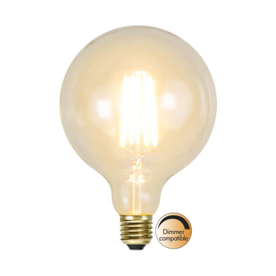 Ampoule LED rétro Edison Globe dimmable