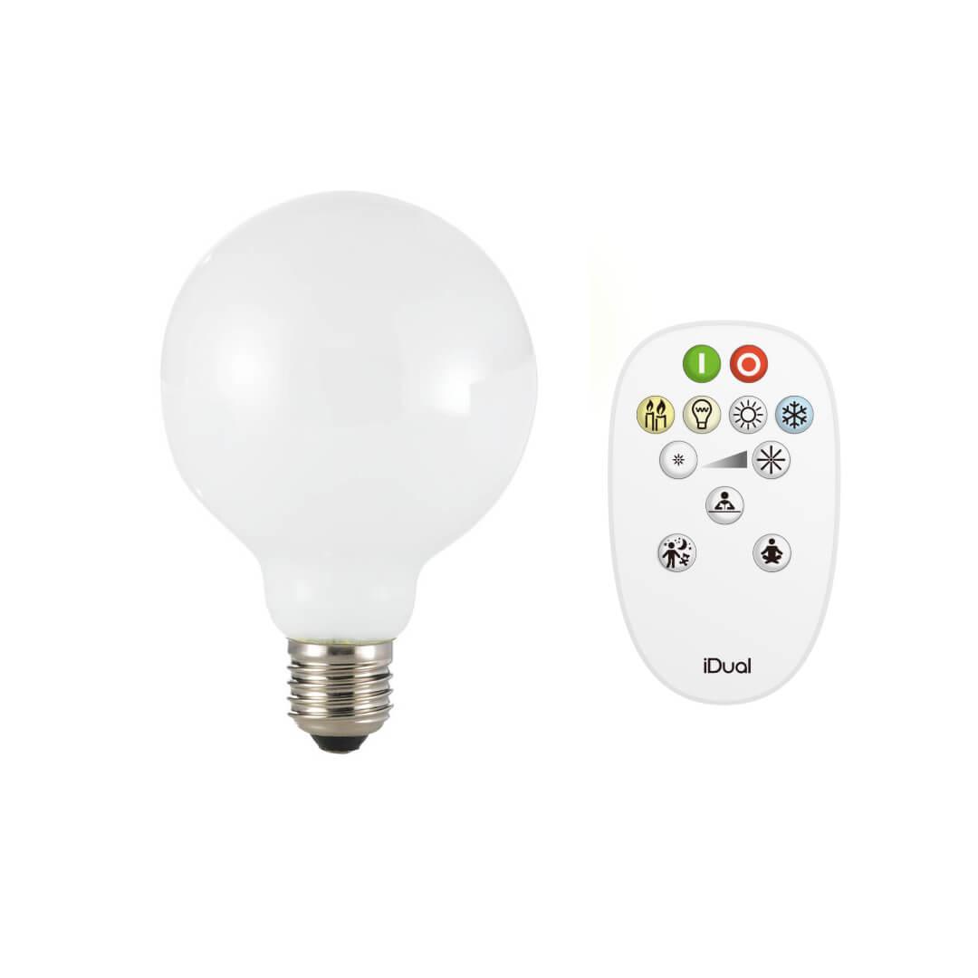 Ampoule E27 ronde connectée - Market Set