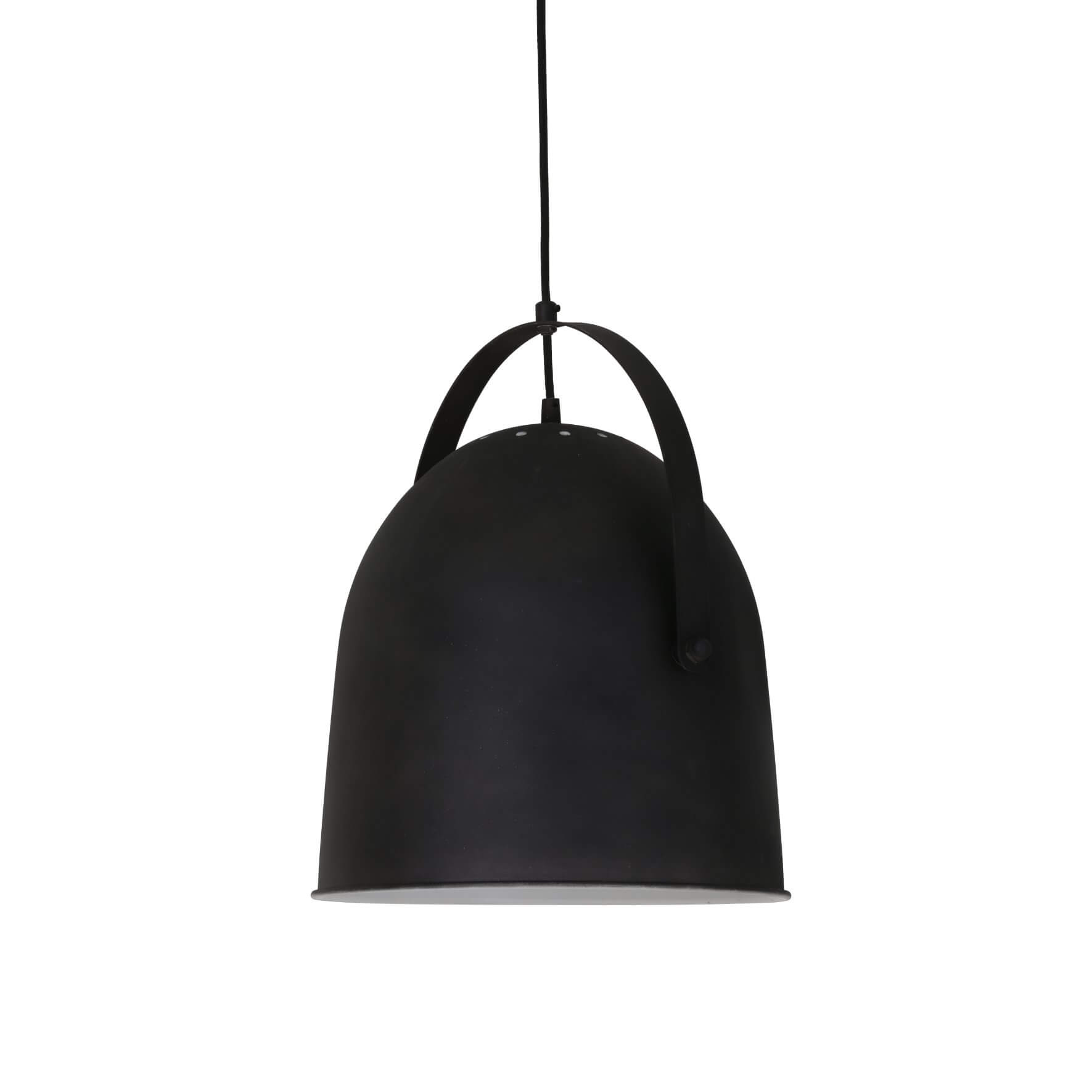 Suspension cloche Walada noire