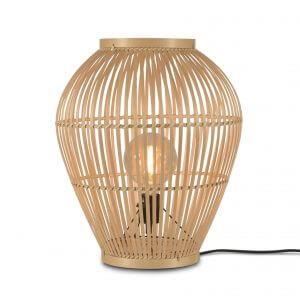 Lampe de table en bambou Tuvalu small - Good & Mojo
