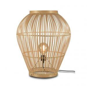 Lampe de table en bambou Tuvalu tall - Good & Mojo
