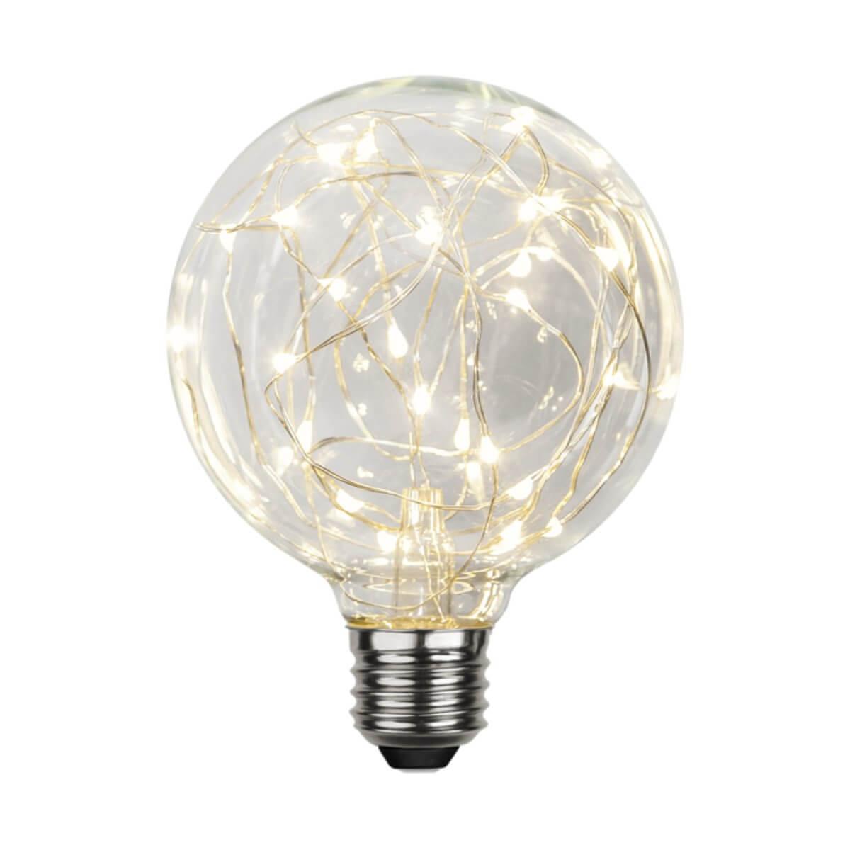 Ampoule festive blanche