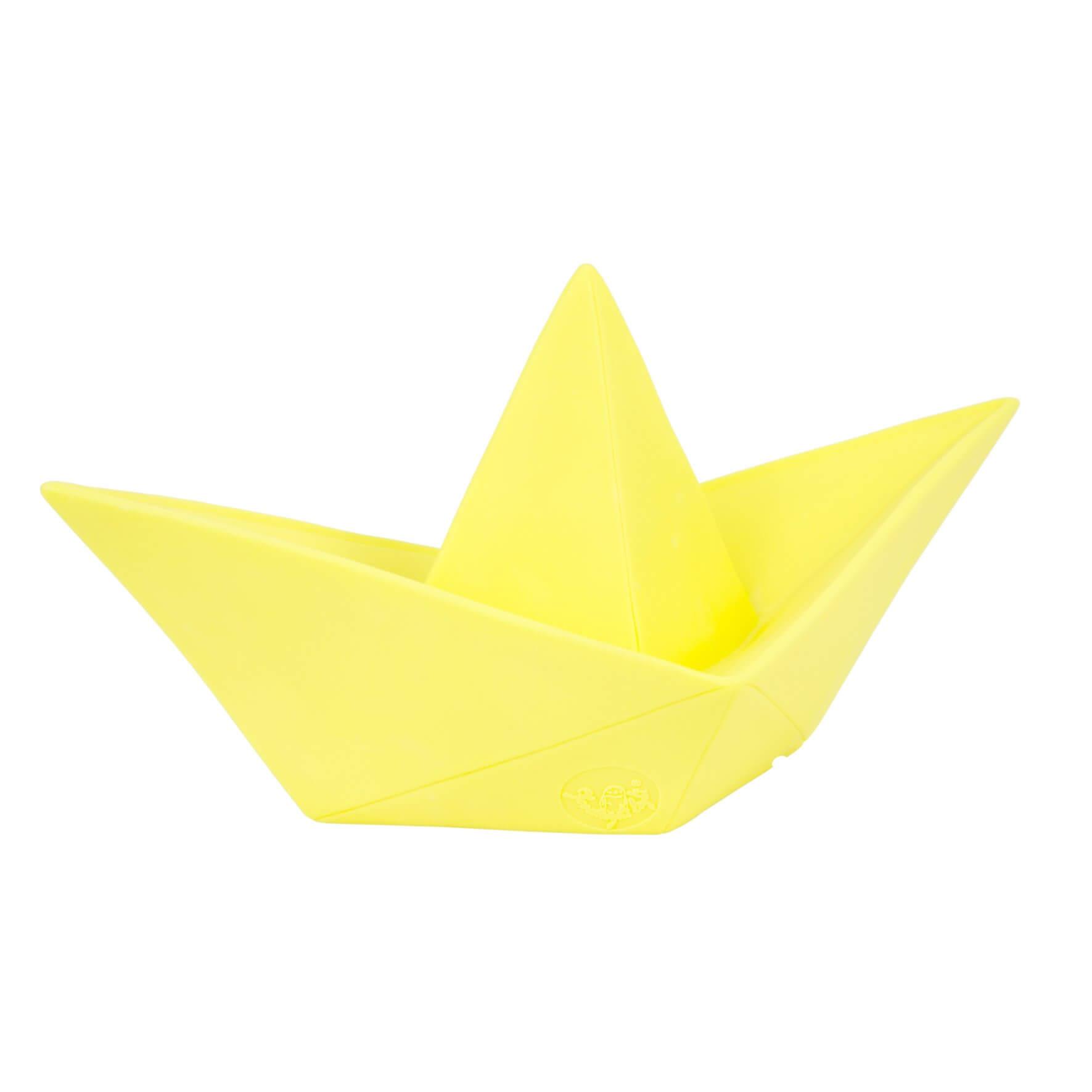Lampe de table Paper Boat jaune