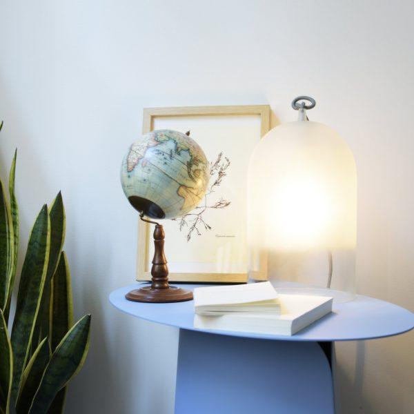 Lampe cloche en verre Dewy small