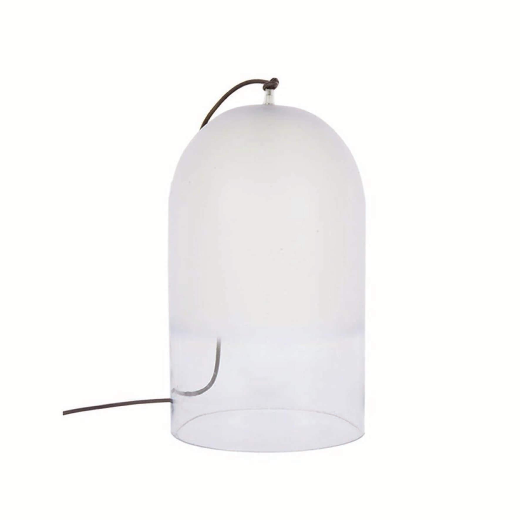 Glockenförmige Glasleuchte Dewy