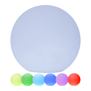 Lampe extérieure LED globe tall