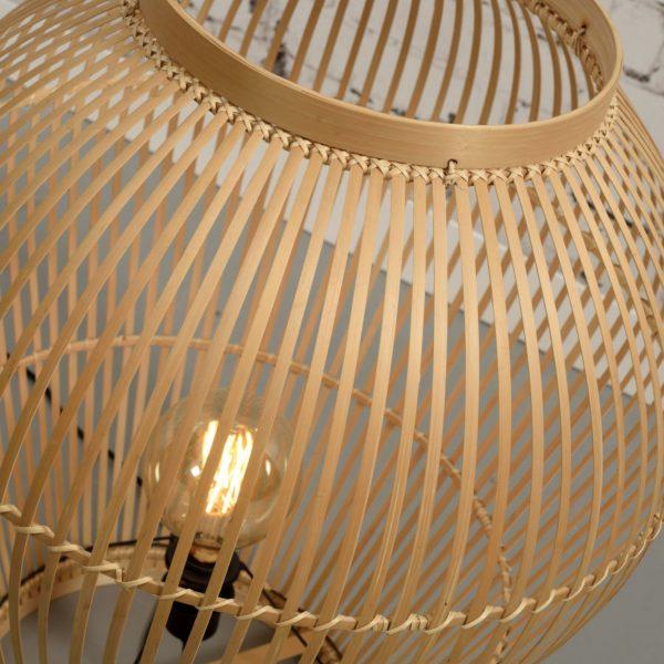 Lampe de table en bambou Tuvalu tall