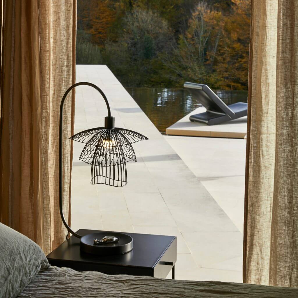 Lampe de table Papillon noir - Le Forestier