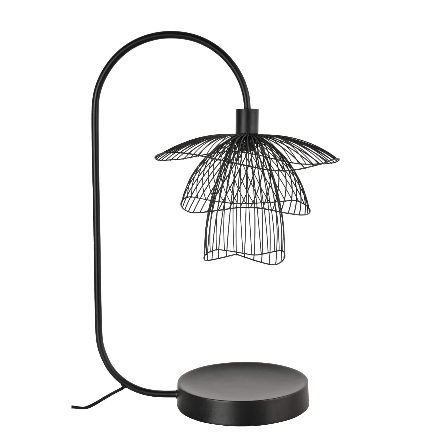 Lampe de table Papillon noir