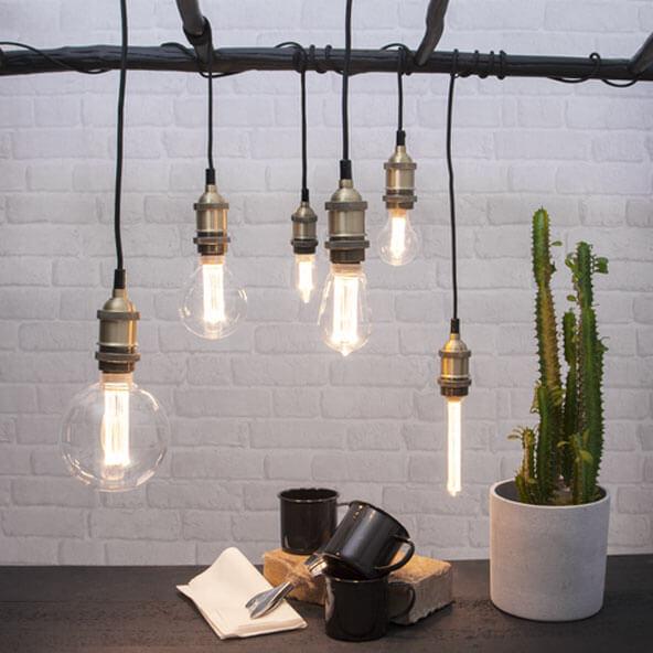 Ampoule décorative LED en tube
