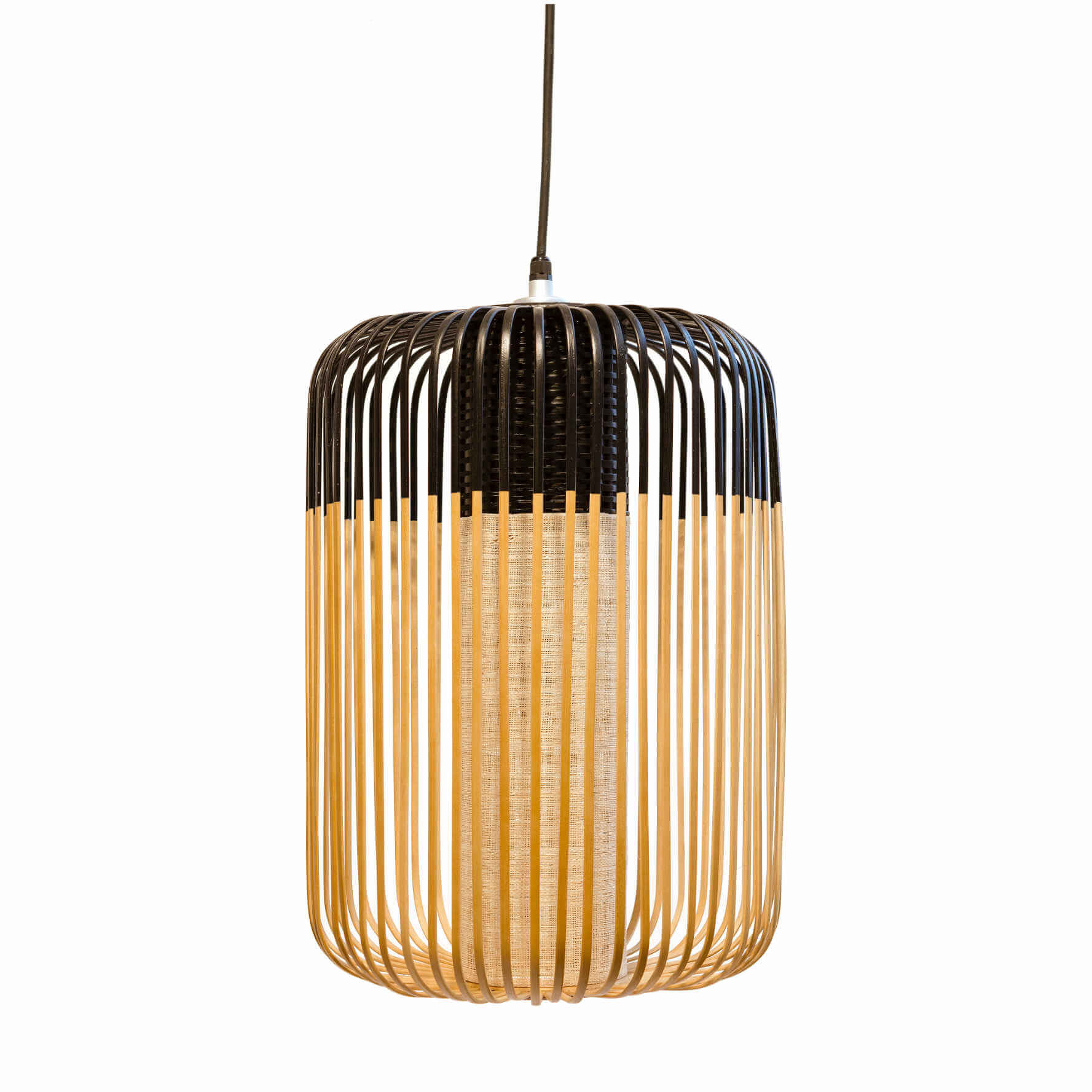 Suspension Bamboo noire S - Le Forestier