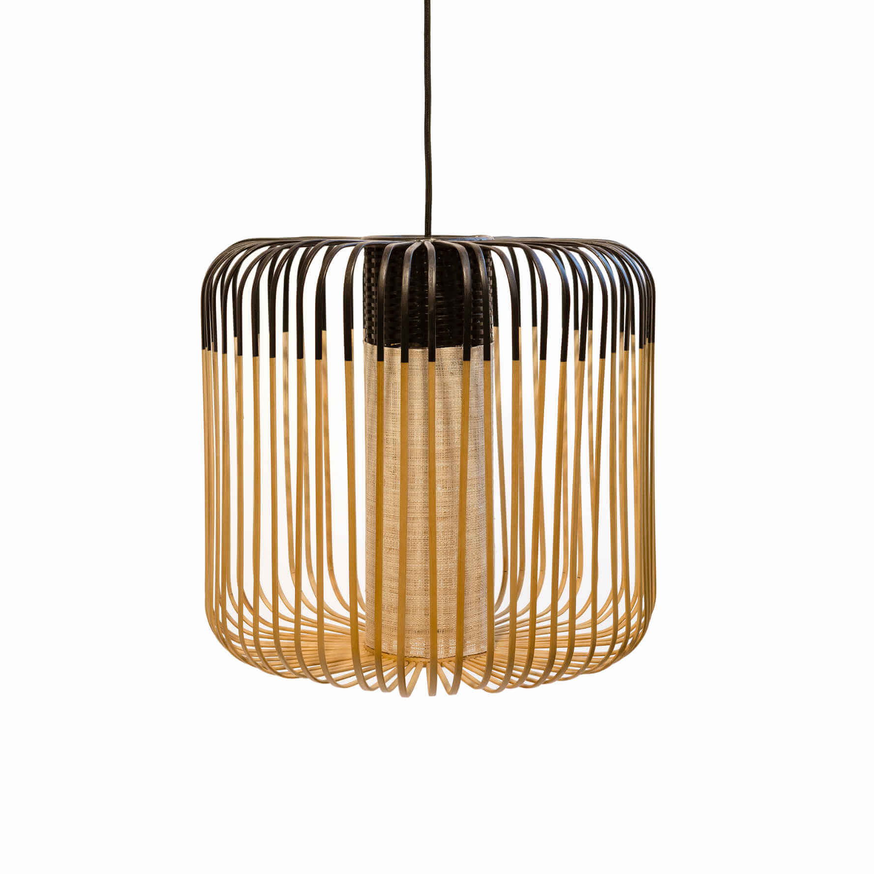 Suspension Bamboo noire M - Le Forestier
