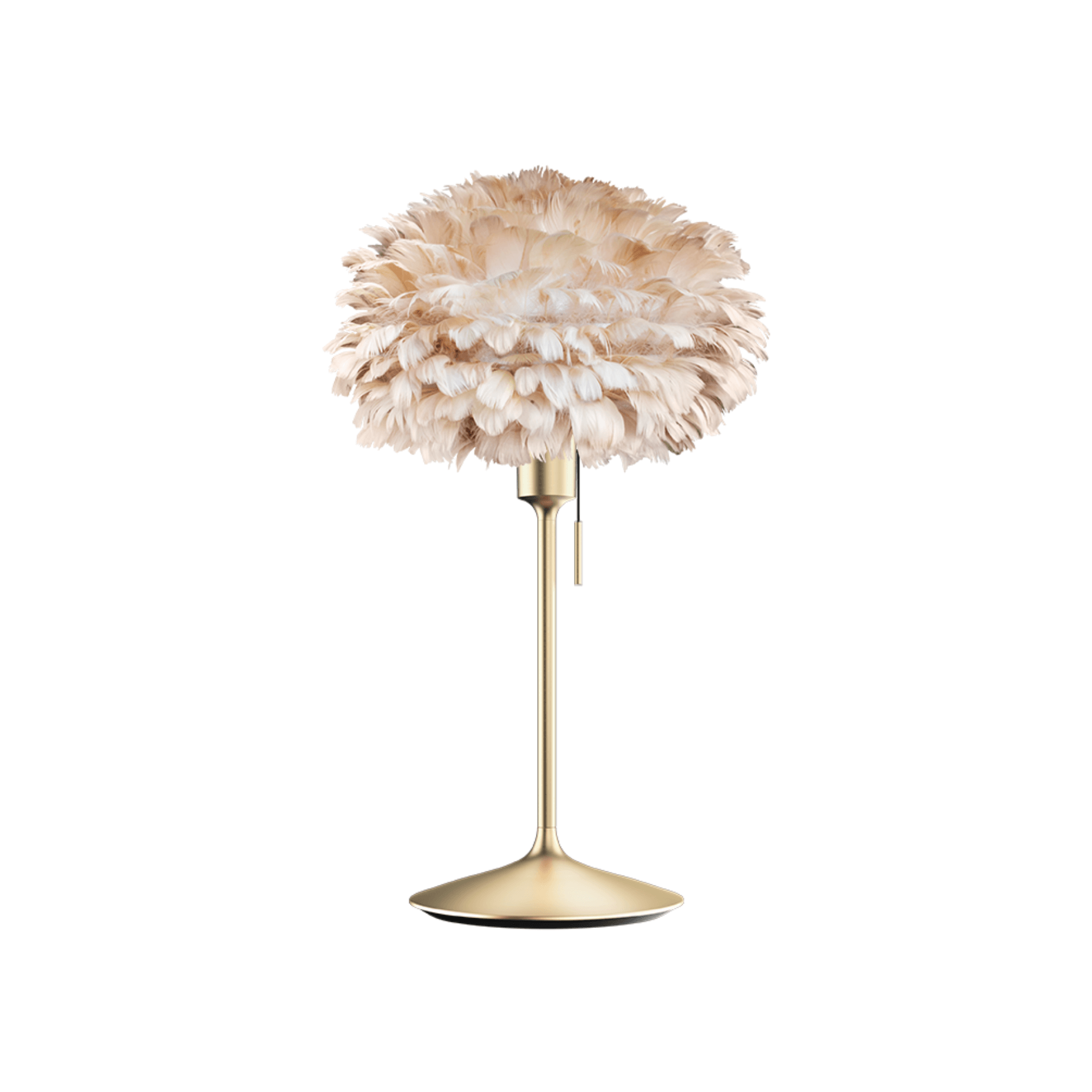 Lampe de table Eos champagne