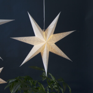 Etoile de Noël en papier S