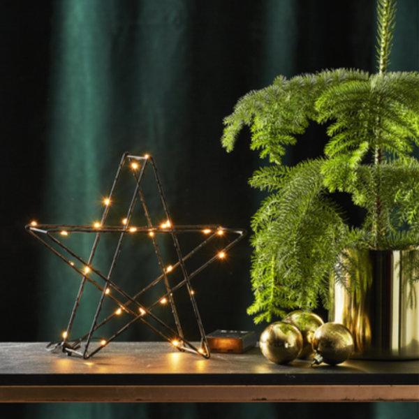 Etoile de Noël étincellante LED
