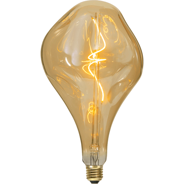 LED-Glühbirne rund Industrial Vintage