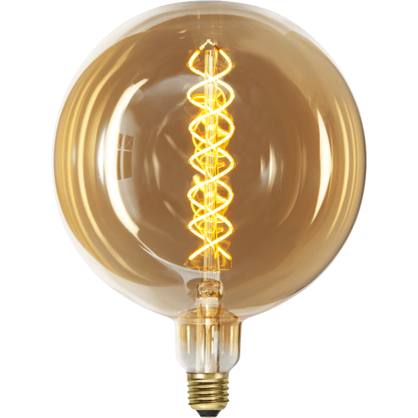 Ampoule LED globe XXL twist
