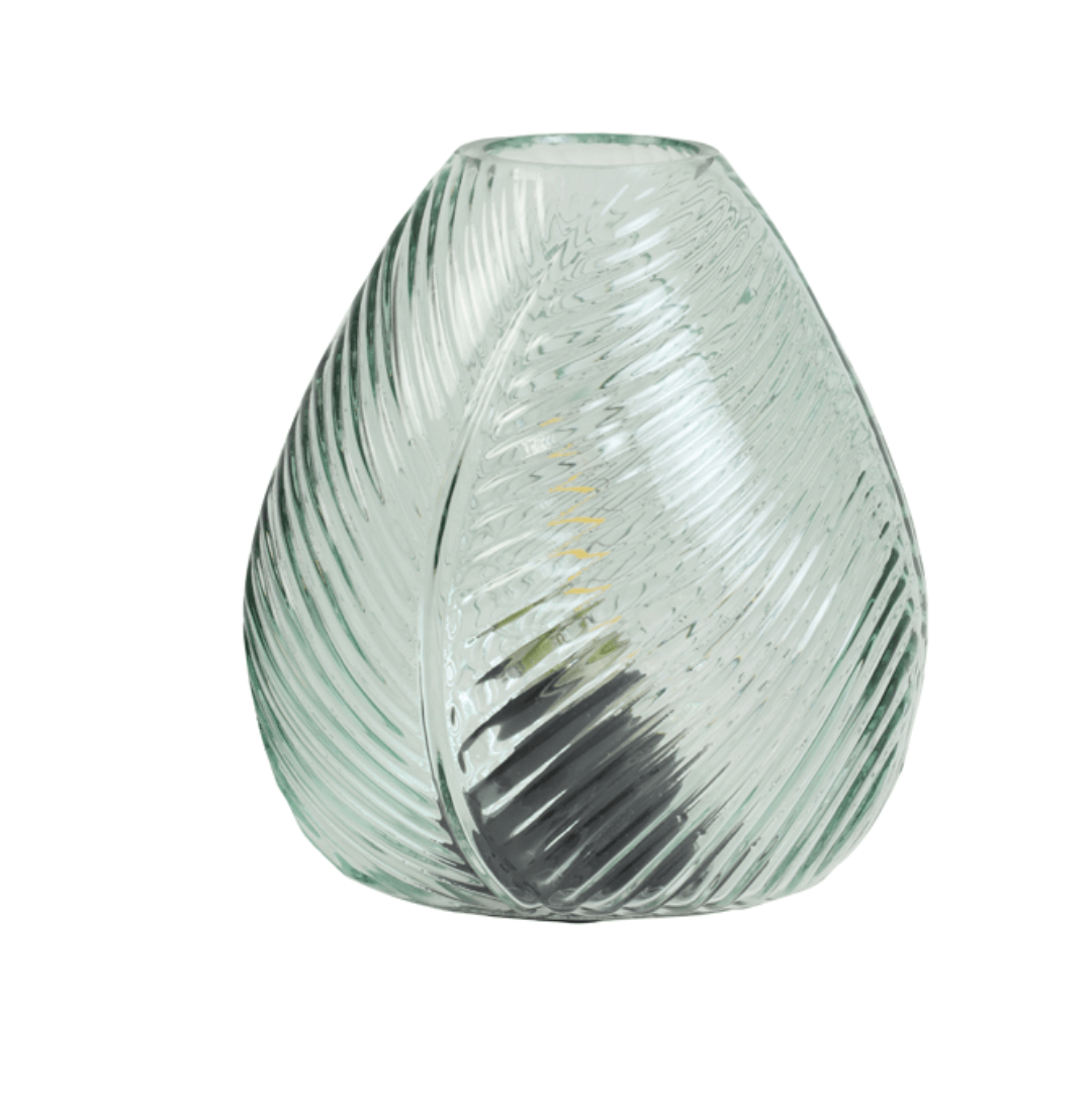 Lampe de table LED Light Blue Leaf