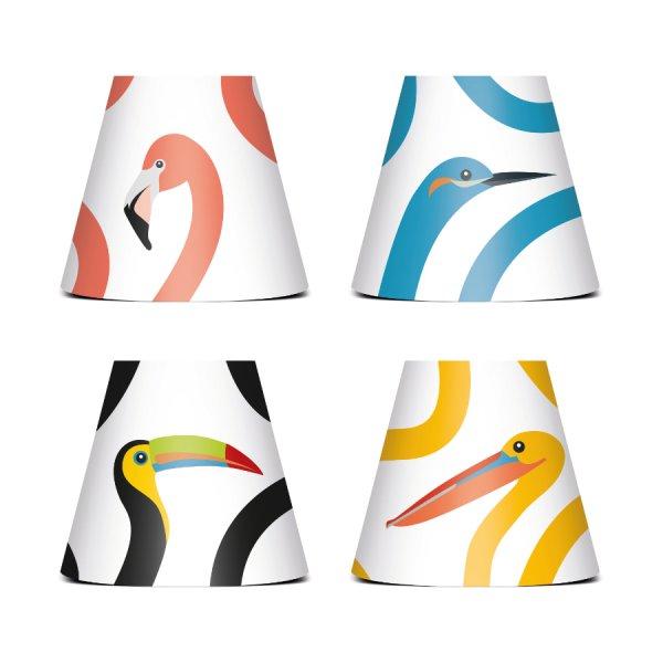 PARTY POLONAISE Lichterkette Birds Fatboy