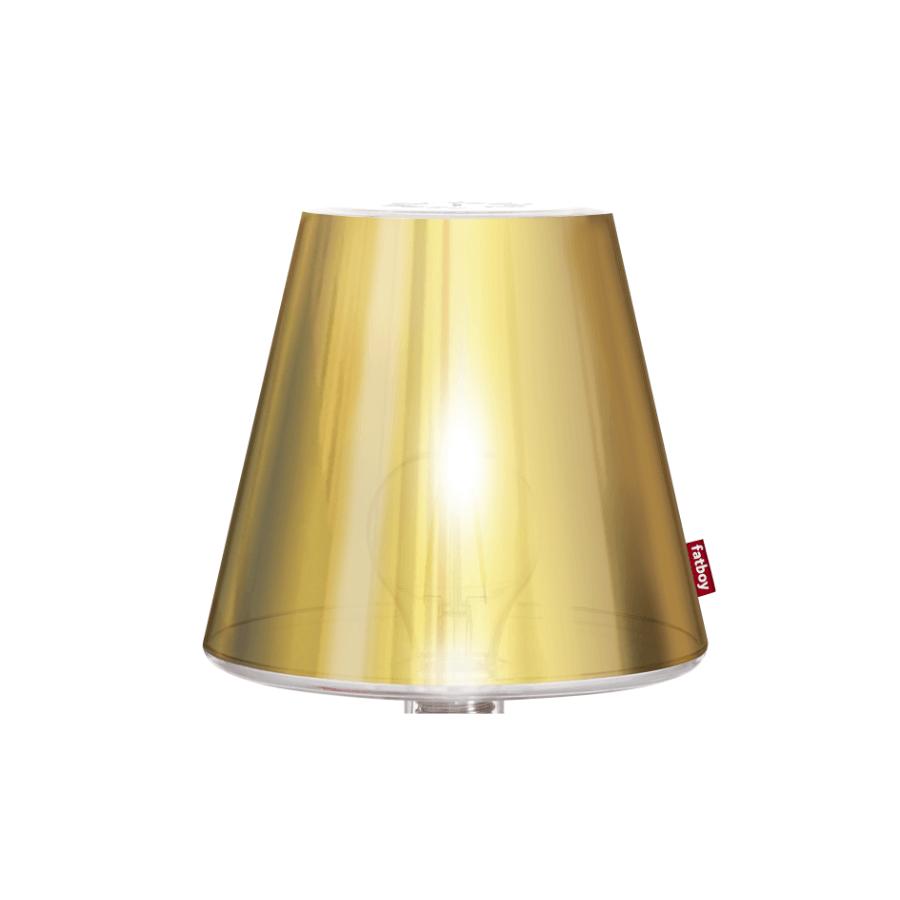 METALLICAPPIE Gold lampenschirm für tischleuchte Transloetje - Fatboy
