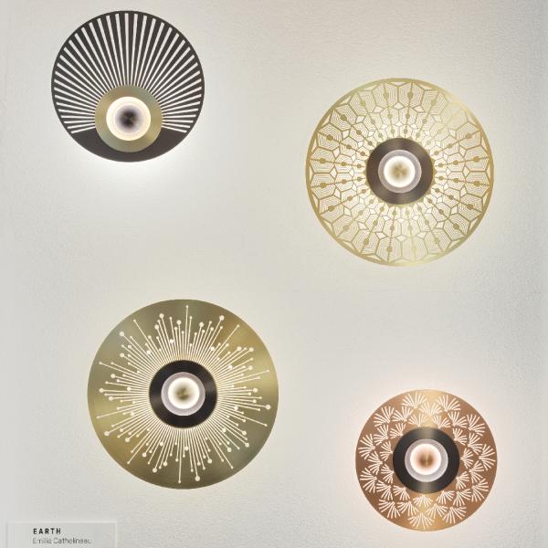 Wandleuchte Earth Mandala - CVL Luminaires