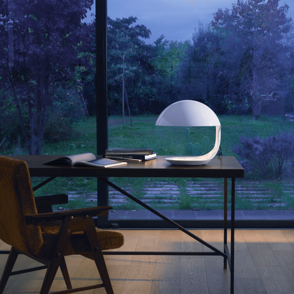 Lampe de table Cobra Blanc - Martinelli Luce