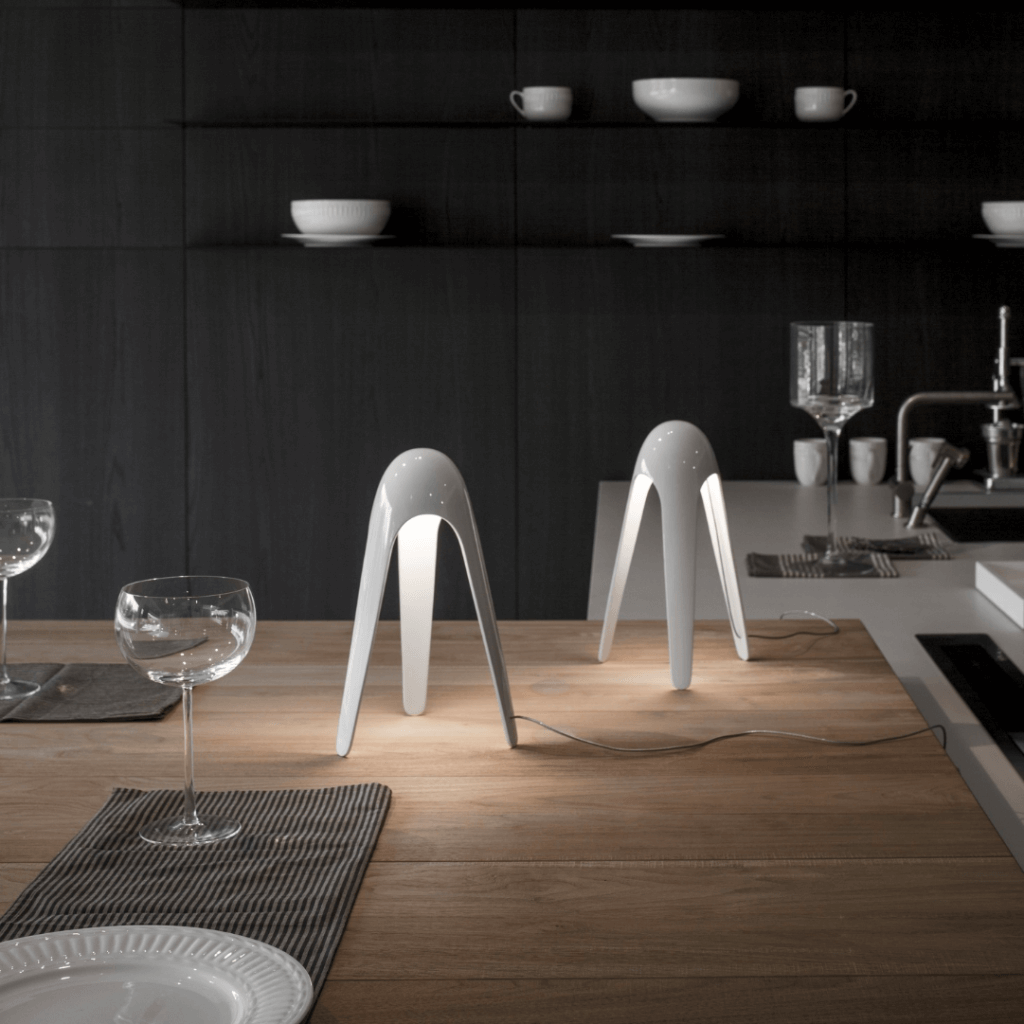 Lampe de table Cyborg Blanc - Martinelli Luce