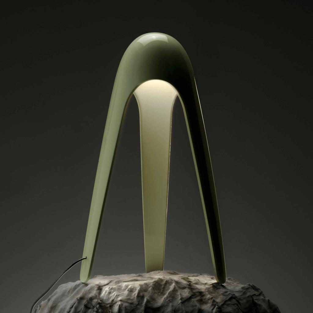 Lampe de table Cyborg Vert - Martinelli Luce