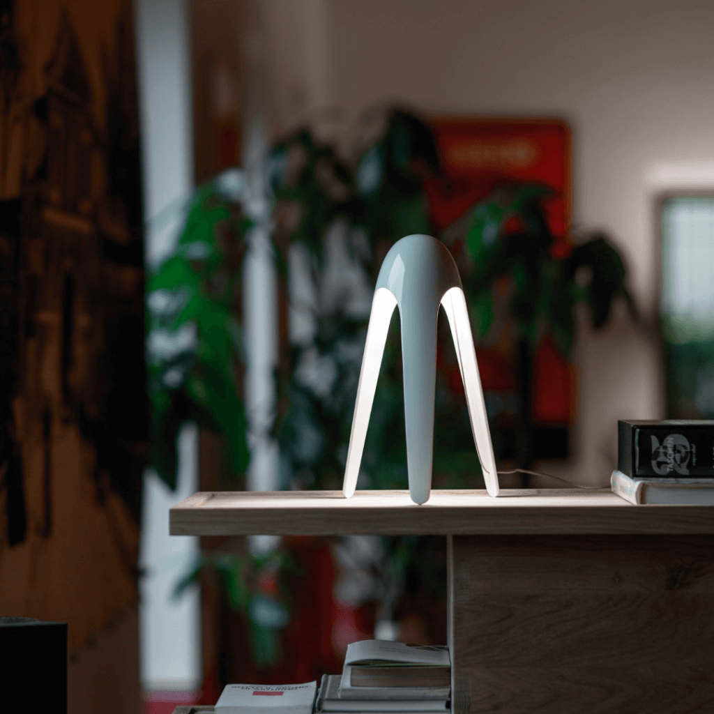 Lampe de table Cyborg Bleu - Martinelli Luce
